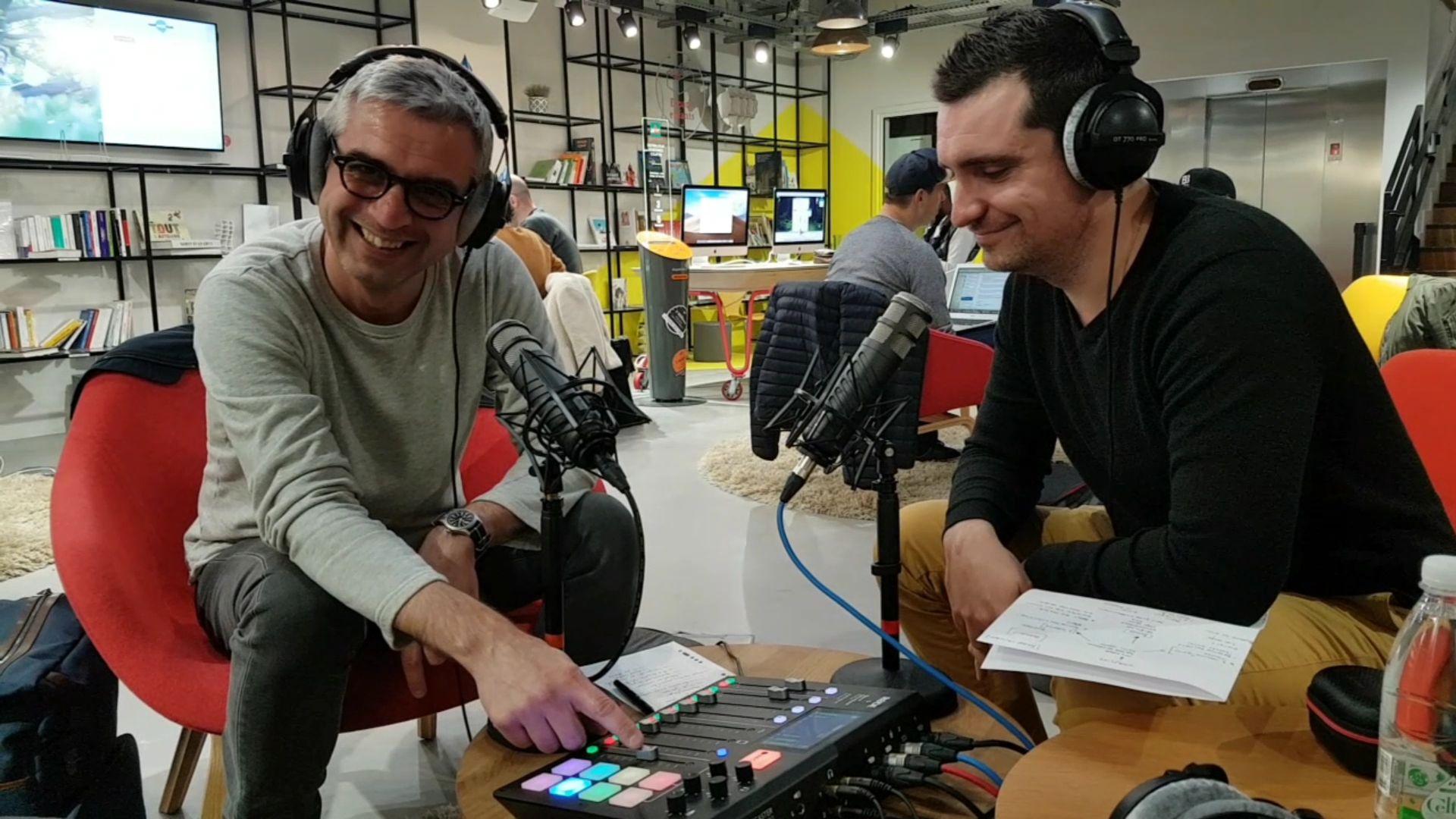 Podcast Storyline Morgan Travers et Nicolas Lozancic