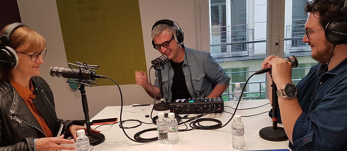 Podcast apprenant client comme un autre